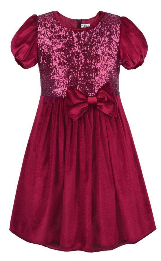 e62101d4fe Sukienka wizytowa z cekinami - Buy4Kids - sukienki dla dziewczynek