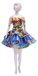 Zestaw Maggy candy - Dress Your Doll